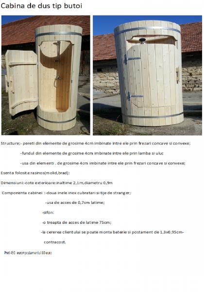 SPA din lemn,ciubar din lemn,,sauna din lemn,cabina de dus din lemn,ch-6