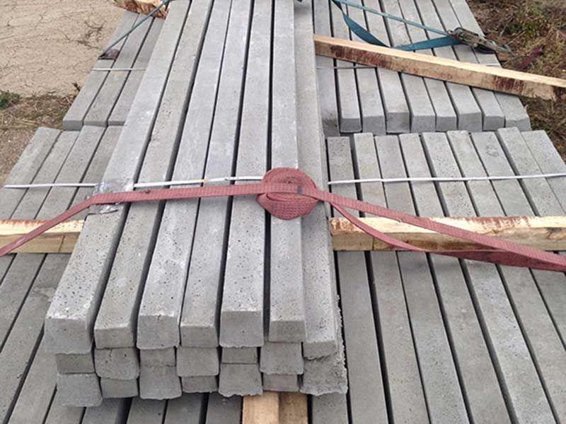 SPALIERI vie, Stalpi beton, gard beton-1
