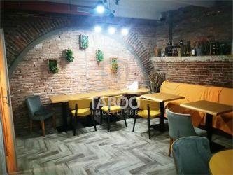 Spatiu comercial pretabil restaurant 175 mp zona Ultracentrala Sibiu