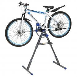 Stand reparat bicicleta, 66 x 33 x 11.5 cm, reglabil cu suport scule