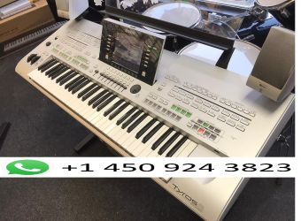 Stație de lucru Yamaha Tyros 5 76-Keys cu toate accesoriile