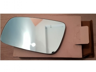 Sticla oglinda cu incalzire , albastru , plan mare stanga Audi A8 94 -