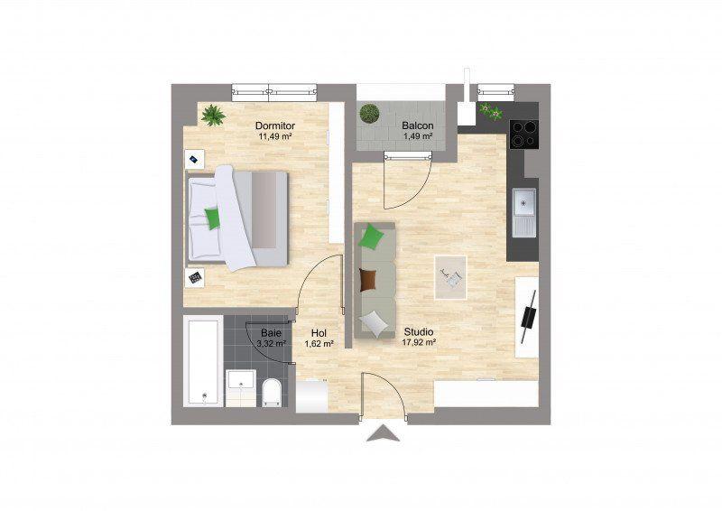 Studio Militari - Coloseum Residence finalizat-4