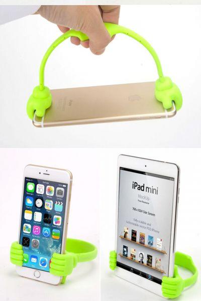 Suport Flexibil plastic pentru Telefon , suport culori diferite-3