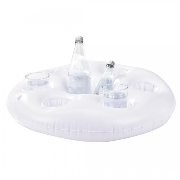 Suport practic pahare/sticle pentru petrecerile in piscina - la strand-2