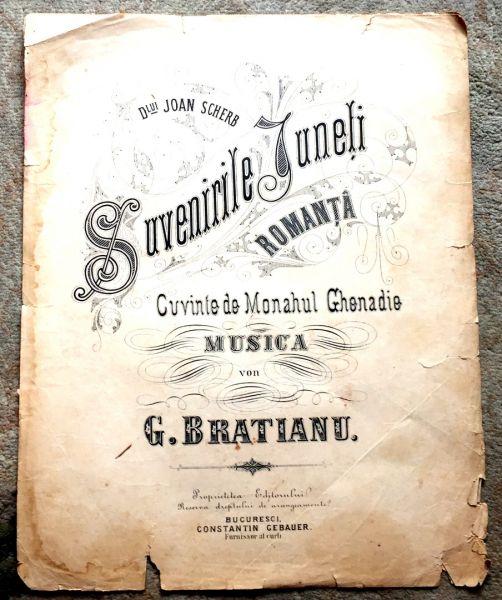 Suvenirile Juneti, G. Bratianu-1