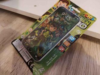 Telefon jucarie Ben 10 pentru copii, funcționează pe baterii cu melodi