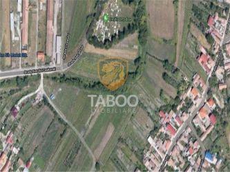 Teren intravilan 2000 mp de vanzare in Sibiu zona Gusterita