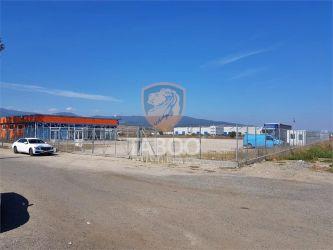 Teren si birouri de inchiriat in zona Industriala din Sebes