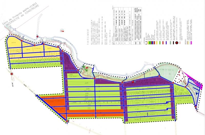 Terenuri Plaja Corbu, Oferte Actualizate 2020 in Plan Parcelar-2