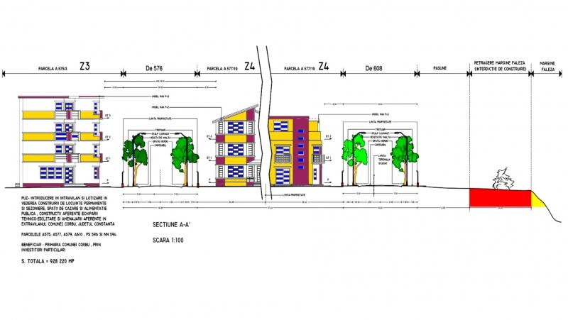 Terenuri Plaja Corbu, Oferte Actualizate 2020 in Plan Parcelar-3