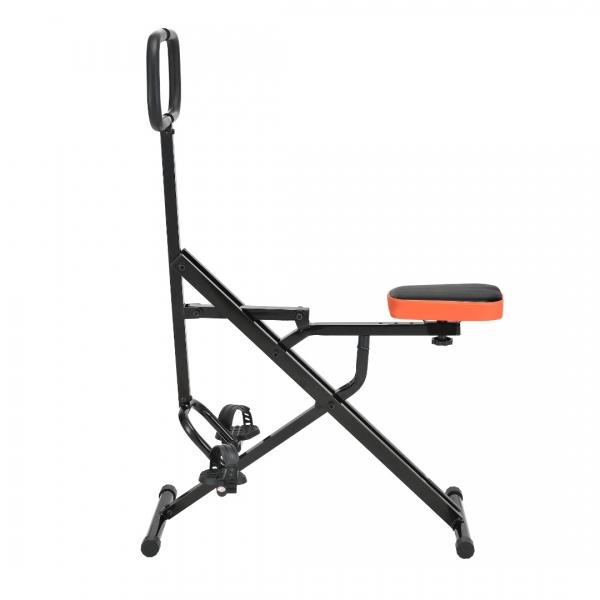 Total Crunch JLHR01,110,5 x 30,5 x 15 cm, otel, negru/portocaliu-3