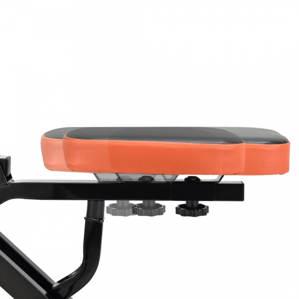 Total Crunch JLHR01,110,5 x 30,5 x 15 cm, otel, negru/portocaliu-5