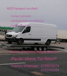 Transport persoane Germania, Austria, Belgia, Olanda