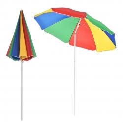 Umbrela plaja 180 cm x 194 cm multicolora