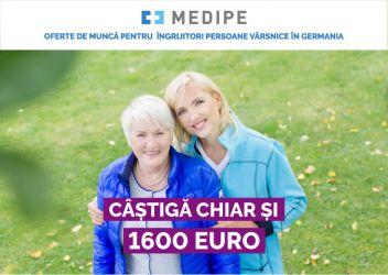 Urgent! post de ingrijitoare persoane varsnice in Germania