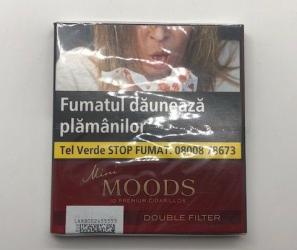 Vand 4 pachete de tigari moods