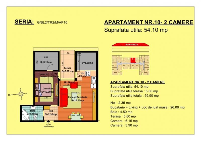 Vand apartament-3
