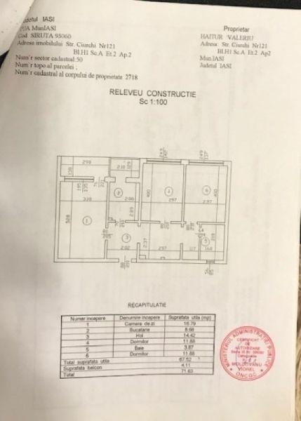 Vand apartament in Iasi elegant cu 3 camere si cu atmosfera de acasa-12