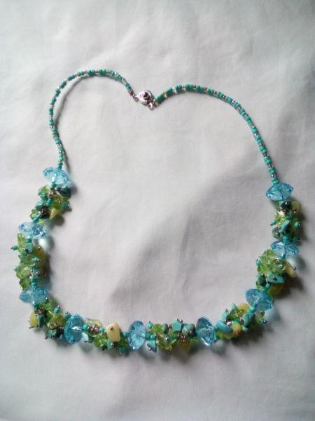 Vând coliere și cercei handmade-2