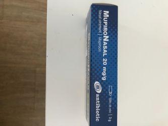 Vand Mupironazal ( Mupirocin 2% ) unguent nazal  stafilococul auriu