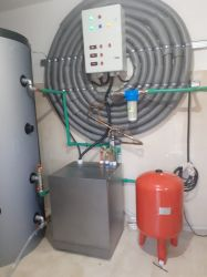 Vand pompe de caldura