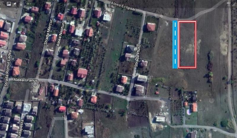 Vand teren intravilan 4300 mp in cartierul Becas (Cluj-Napoca), Str. E-1