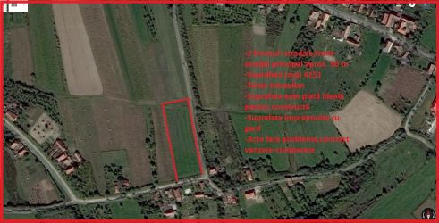 Vand urgent teren intravilan Sauaieu com.Nojorid 4251 m²