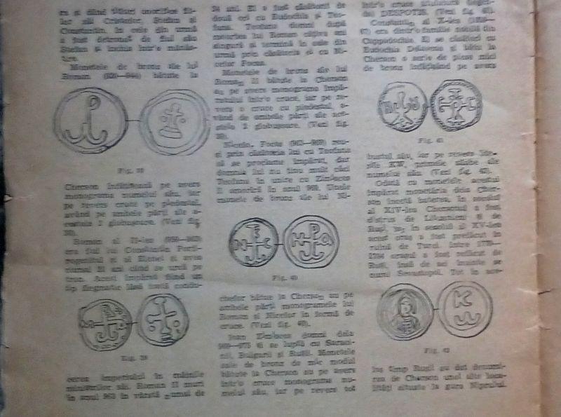 Vechile monede grecesti si bizantine, C. Secasanu, 1947-9
