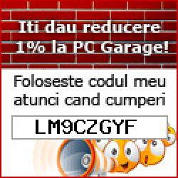 Voucher cupon reducere Pc Garage 2020: LM9CZGYF