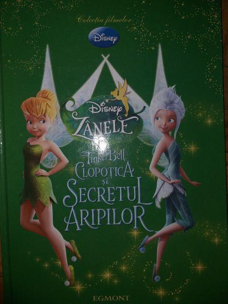 Zanele - TinkerBell. Clopotica si secretul aripilor , 2013-1