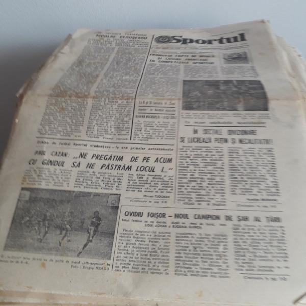 Ziarul - Sportul ( 1975 - 1988)-1